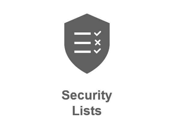 oci security list